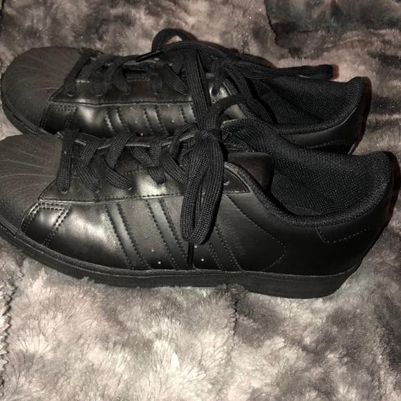 adidas Shoes   All Black Adidas
